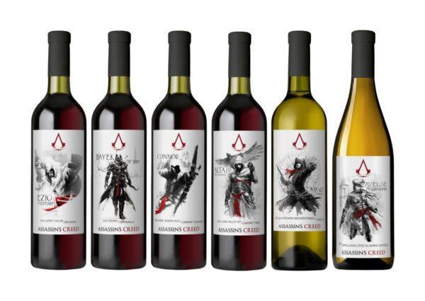 Assassin's Creed ha anche i suoi vini ufficiali
