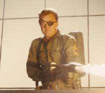 Leonardo DiCaprio in una scena di C'era una volta a.... Hollywood