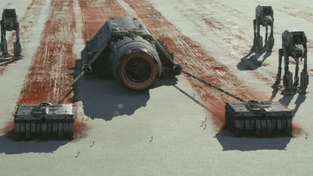Immagine del cannone di TLJ