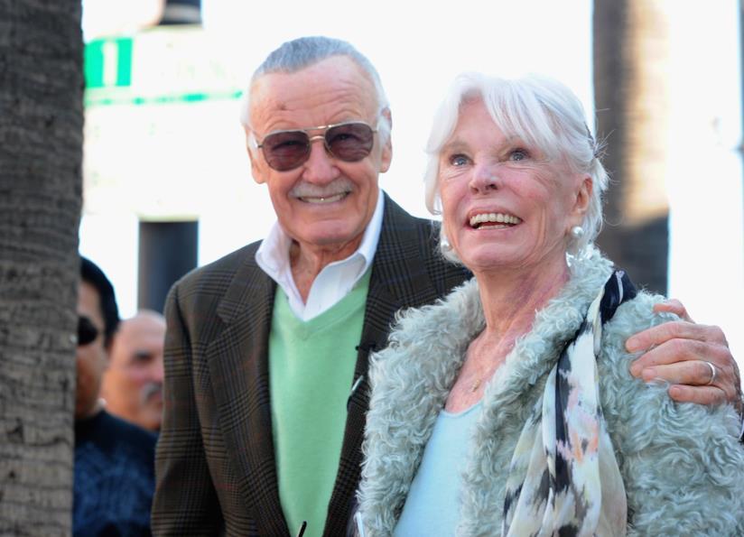 Stan e Joan Lee