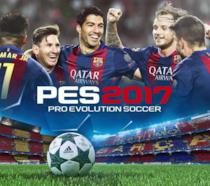 La cover ufficiale di Pro Evolution Soccer 2017