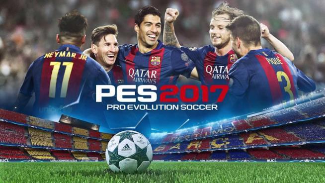 La cover ufficiale di Pro Evolution Soccer 2017