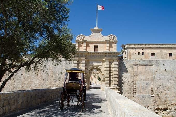 Le porte di Mdina erano l'ingresso alla Fortezza Rossa