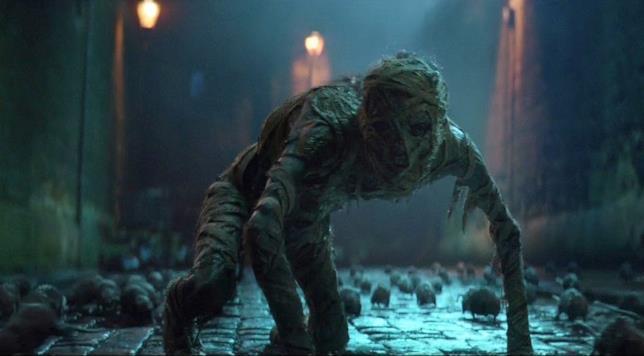 Una delle sequenze thrilling de La Mummia