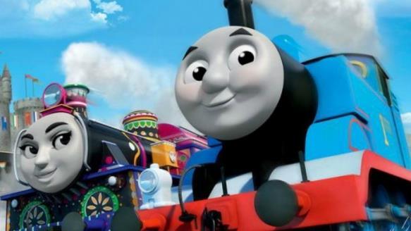 Foto tratta dal film animato Il Trenino Thomas - La Grande Corsa