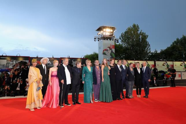 Il cast di At Eternity's Gate a Venezia