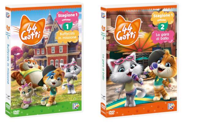 La serie animata 44 Gatti