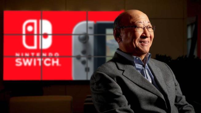 Tatsumi Kimishima, CEO di Nintendo