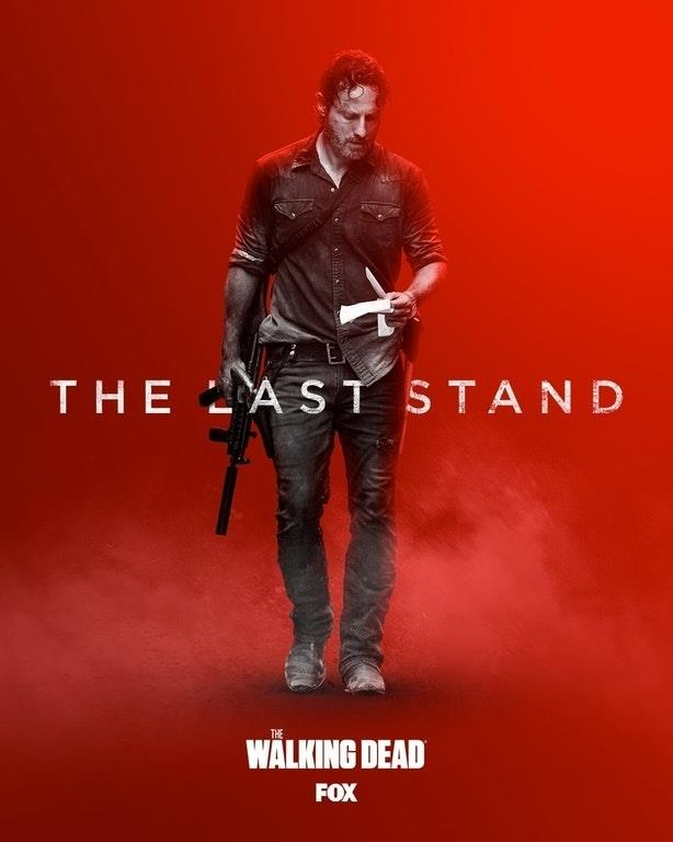 The Last Stand: il nuovo poster di The Walking Dead 8