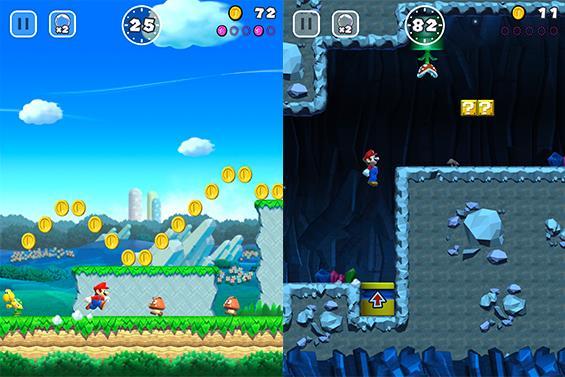 Screenshot di Super Mario Run