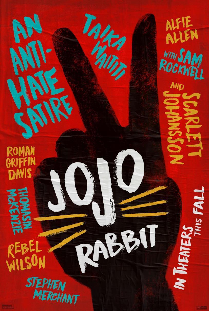 Il poster ufficiale di Jojo Rabbit