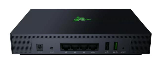 Connettività del router Razer Sila