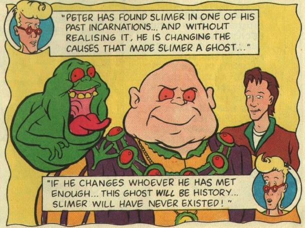 Slimer e il suo alter ego del passato King Remlis
