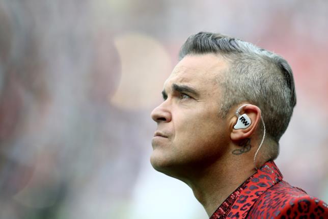 Robbie Williams ai Mondiali
