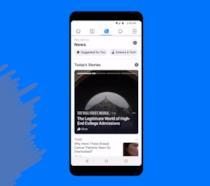 La Home Screen di Facebook News