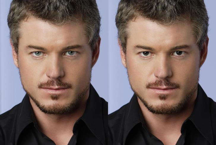Grey's Anatomy: Mark Sloan con gli occhi scuri
