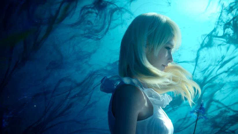 Uno splendido cosplay di Luna da Final Fantasy XV