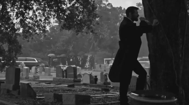 Una scena del trailer di Logan