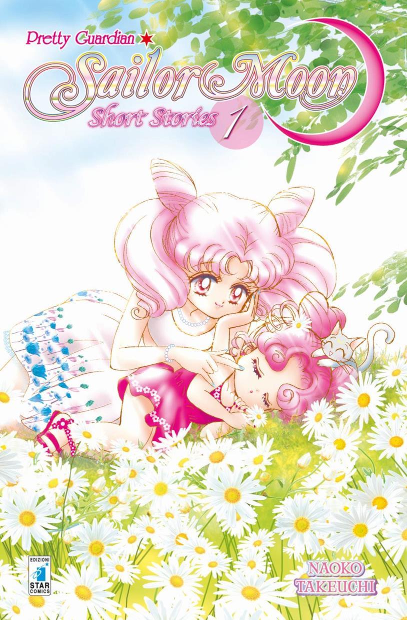 La copertina della nuova ristampa di Pretty guardian Sailor Moon. Short stories
