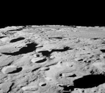 Una ripresa della Luna gentilmente offerta dalla NASA