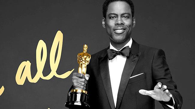 Il presentatore degli Oscar 2016, Chris Rock