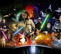 Poster di tutti i personaggi di Star Wars