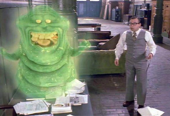 Slimer in Ghostbusters 2