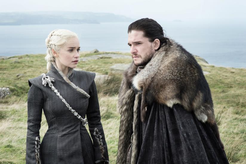 Un'immagine dalla settima stagione di Game of Thrones