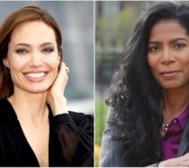 L'attrice Angelina Jolie e l'avvocato Judy Smith