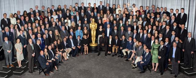 La foto con tutti i candidati agli Oscar 2018