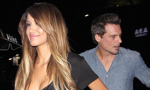 La modella C.J. Franco con Len Wiseman, ex marito di Kate Beckinsale