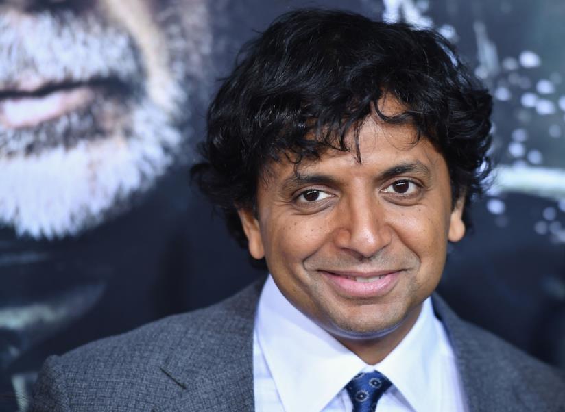 Il regista M. Night Shyamalan