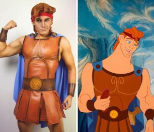 Le trasformazioni in personaggi Disney e dei manga più belle di J Stryker