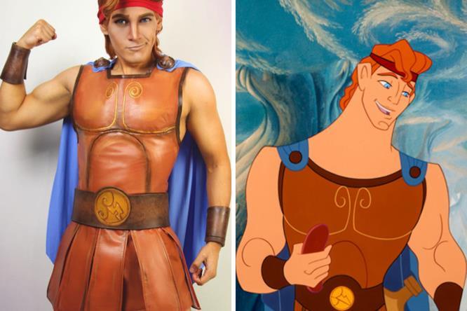J Stryker si è trasfromato in Herclues dI Disney