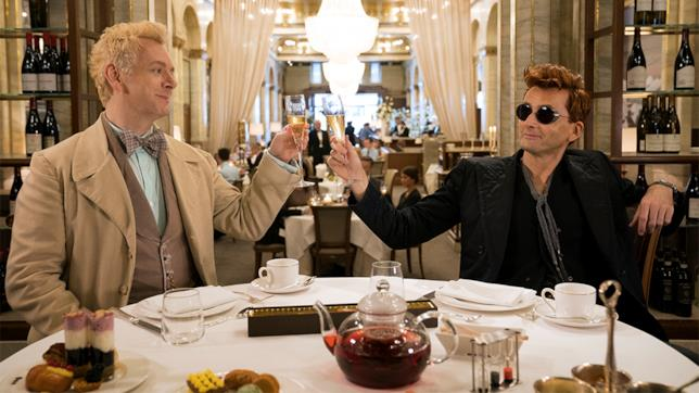 Good Omens: Michael Sheen e David Tennant