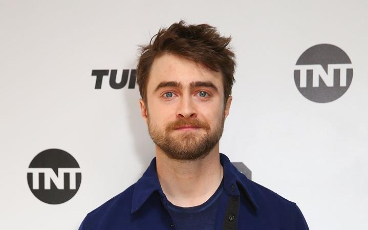 L'attore inglese Daniel Radcliffe