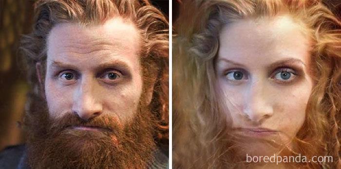 Da uomo a donna: la trasformazione di Kristofer Hivju