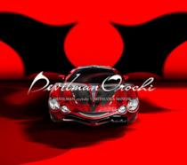 L'immagine dell'auto della Mitsuoka Motors ispirata a Devilman Crybaby