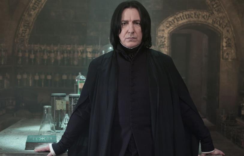 Severus Piton in Harry Potter