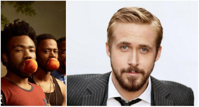 Un collage tra Atlanta e Ryan Gosling