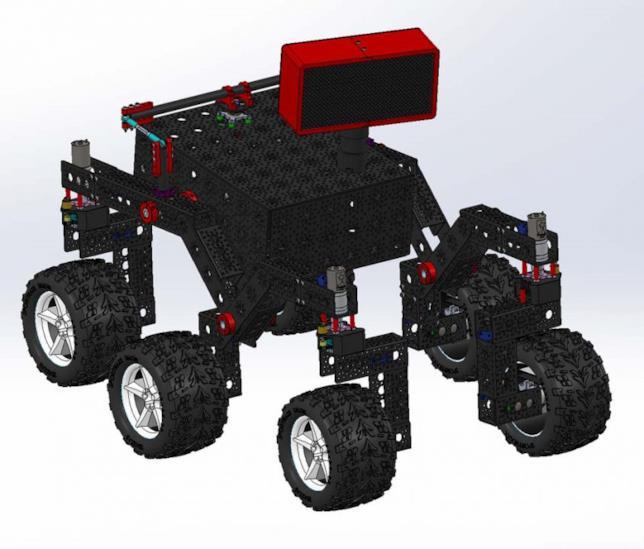 Modello del rover open source