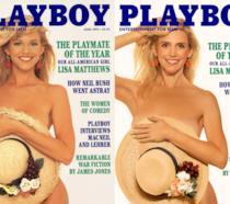 Lisa Matthews posa per Playboy prima e dopo