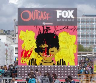 Outcast conquista il Napoli Comicon: tutte le foto dell'evento