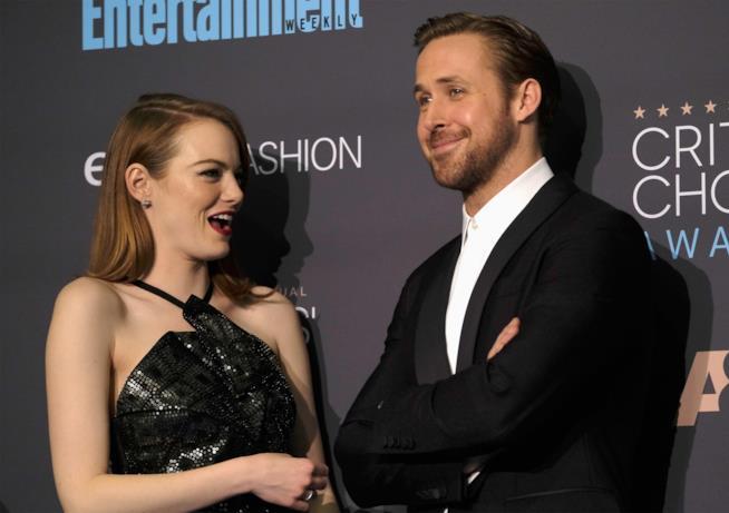Ryan Gosling e Emma Stone insieme per la promozione di La La Land