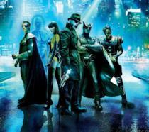Il gruppo di supereroi al completo del film Watchmen di Zack Snyder