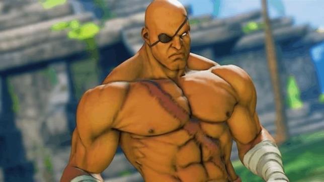 Sagat, l'acerrimo nemico di Ryu in Street Fighter