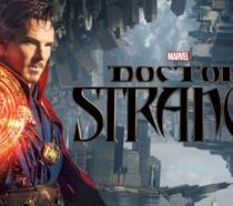 Benedict Cumberbatch interpreta il mago Doctor Strange