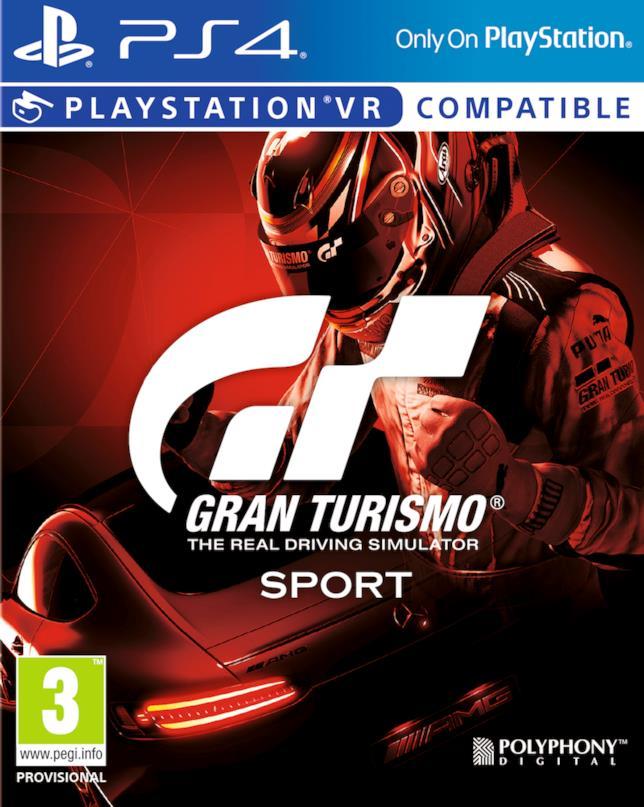 Gran Turismo Sport è disponibile dal 18 ottobre su PS4 e PS VR