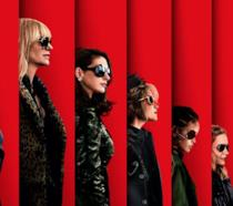 Il cast di Ocean's 8 nel poster del film
