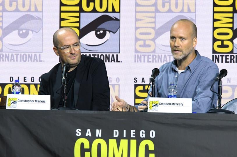Christopher Markus e Stephen McFeely al San Diego Comic-Con 2019